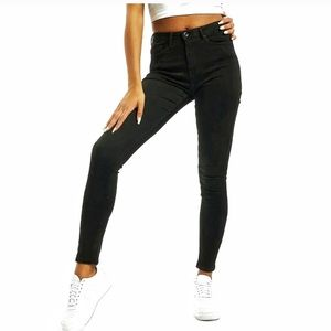 American Apparel Black High Waisted Jeans